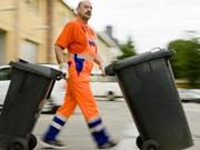 Müllabfuhr, dpa