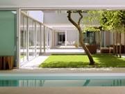 atriumhaus schwimmbad ; Brunner