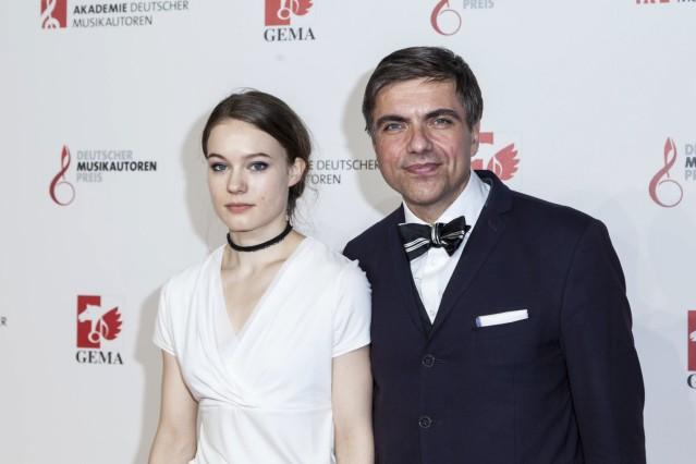 Moritz Eggert Komponist und Pianist bei dem Musikautorenpreis am 16 03 2018 in Berlin *** Moritz E