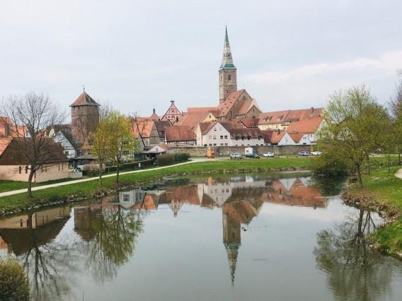 Literaturweg Franken in Wolframs-Eschenbach