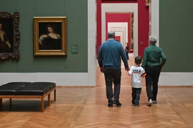 Pinakotheken sind wieder geöffnet.
