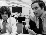 Watergate-Skandal Star-Reporter Woodward und Bernstein AP