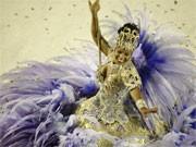 Beste Sambaschule vom Karneval in Rio de Janeiro Brasilien Magueira, AP