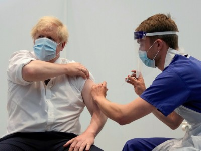 Corona weltweit: Johnson fordert Impfung der Weltbevölkerung bis Ende 2022