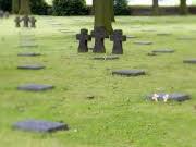 deutscher Soldatenfriedhof in Belgien, dpa