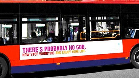 Atheisten-Kampagne in London