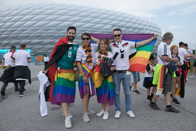 Allianz Arena, Fußball EM Spiel: Deutschland Ungarn