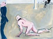Delhomme Comic Zeitgenössische Kunst