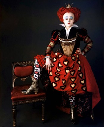 Helena Bonham Carter Characters: The Red Quee Film: Alice In Wonderland (USA 2010) Director: Tim Burton 26 February 2010
