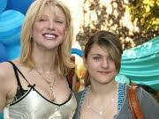 Courtney Love und Tochter Frances; dpa