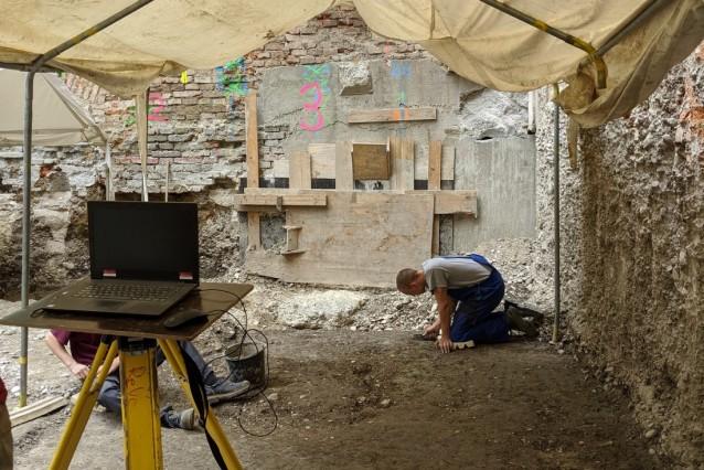 Archäologen haben einen neuen historischen Siedlungskern in München entdeckt