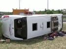 Brandenburg: Viele Verletzte bei Busunfall (Vorschaubild)