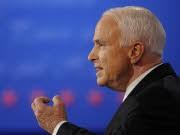 John McCain im dritten TV-Duell, AFP