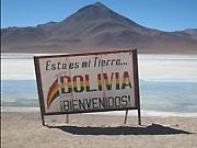 Bolivien Grenze