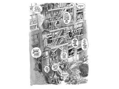Pionier der Graphic Novel: Will Eisner: Feuertreppe des Lebens