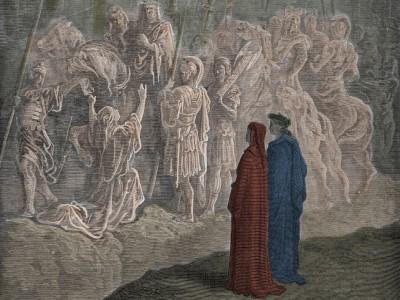 Bilder und Schatten bei Dante: Unser Lichtgewand wird bleiben