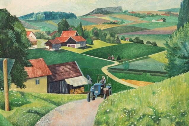 """Verbundausstellung """"Landschaftsmalerei an Rott und Inn"""""""