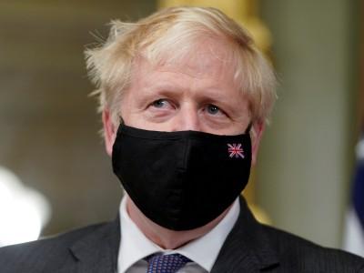 Leute: Boris Johnson im Windel-Rausch