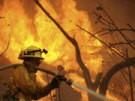 Tausende auf der Flucht vor dem Feuer (Bild)