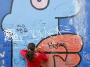 East Side Gallery in Berlin, AP