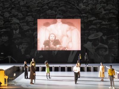 Opernuraufführung: Schnulze und Rassisimus