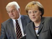 Steinmeier, Merkel, dpa