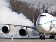 Boeing 747-8; afp