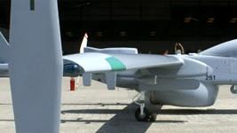 Drohne Heron 1, dpa