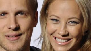 Oliver Pocher und Sandy Meyer-Wölden; dpa