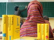 Migranten Schüler, dpa