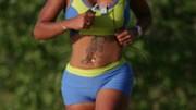 Joggen Sport und Verschleiß