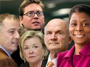 2009: Aufsteiger der Wirtschaft, Fotos: AP, dpa, Reuters