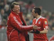 FC Bayern München van Gaal Ribéry ap