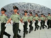 Chinesische Sicherheitskräfte, afp