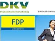 FDP, DKV, Screenshot: http://www.kooperation.dkv.com/fdp/index.html