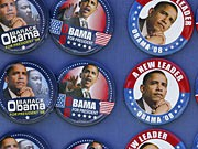 Internet im US-Wahlkampf, Barack Obama, Buttons, AP