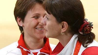 Olympia Russen und Georgier bei Olympia