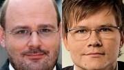Chef Talente: Carsten Schneider und Steffen Kampeter (1)