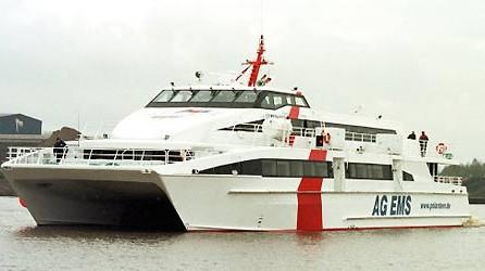 Nordsee-Fähre