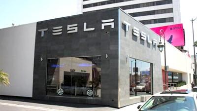 Elektro-Sportwagen Tesla Roadster