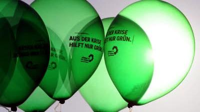 Die Grünen Die Grünen im Umfragehoch