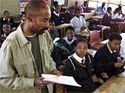 Schule in Südafrika; AP