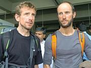 Walter Nones und Simon Kehrer