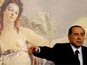 berlusconi brust bild tiepolo italien kunst politik ap