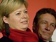 Klaus Ernst und Gesine Lötzsch, dpa