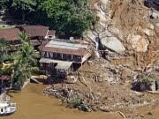 dpa, Brasilien, Hottel, Ilha Grande, Lula, Lawine, Regen