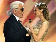 Karl Lagerfeld, Diane Kruger, Getty Images
