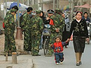 Unruheprovinz Xinjiang