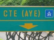 Autobahn in Singapur, dpa