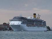 Kreuzfahrtschiff Venedig, Getty